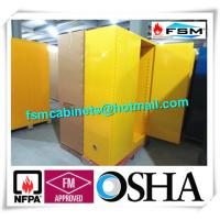 Wholesale Venting Industrial Safety Cabinets , Flammable Goods Storage Cabinets from china suppliers