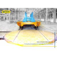 China Motorised Turntable Industrial Automated Guided Carts Electric Driven Platform Trolley on sale