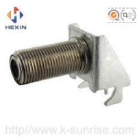 Buy cheap long f connector with brackets for pcb board from Wholesalers