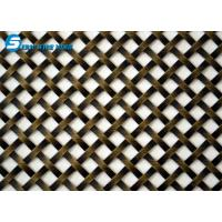 """Wholesale Flat-Wire Decorative Mesh Fandango Antique Brass Plated 24"""" X 48"""" from china suppliers"""