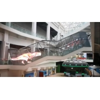 Buy cheap 90 Degree IP45 1500 Nits P7.8mm Transparent LED Screen from wholesalers