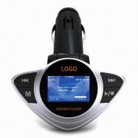 Wholesale Car FM Modulator/MP3, Supports FM Transmitter/Two Color Matrix LCD Display/Lyric Display/USB Host  from china suppliers