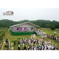 Wholesale White Roof Outdoor Wedding Reception Tent , Alumium Frames Marquee Tent from china suppliers