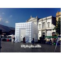 Buy cheap 6m White Inflatable Cube Tent for Party, Wedding and Exhibition from Wholesalers