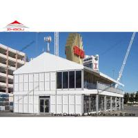 Wholesale A Shape Double Decker Tent Prefabricated House With Strong Galvanized Steel Pole from china suppliers