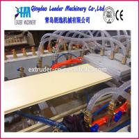 China Plastic profile machine PVC Wall Panel and Ceiling Panel Production machine on sale