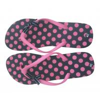 China V strap full color printed  Women Flip flops  thongs slipers manufacturers for sale