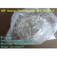Wholesale Anavar Oxandrolone CAS 53-39-4 Good Body Shape Muscle Gain Steroid Powder from china suppliers