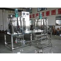 Wholesale 1000L Steam Heating Shampoo Mixer With Stainlesss Steel Group Blending Tanks from china suppliers
