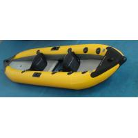 Wholesale Two Person Inflatable Sea Kayak 388 Cm PVC Fabric With Removable Floor from china suppliers