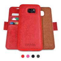 Buy cheap Detachable Cell Phone Leather Cases Flip Wallet Card Holder With Kickstand Case from Wholesalers