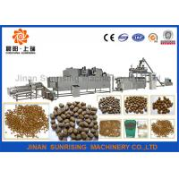 Buy cheap Popular Floating Fish Feed Production Machine With BV , 201 Stainless Steel from wholesalers