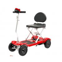Wholesale Lightweight Foldable Electric Scooter for elder , foldable electric disabled scooters from china suppliers