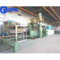 Quality Abrator type shot blasting machine pretreatment line for 2 m width steel plate for sale