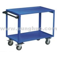 Hand cart|Two lays bule easy small hand cart|China hand cart for sale