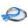 CATV Network Optical Fiber Pigtail 12 Core Fiber Outdoor SC Pigtail Waterproof for sale