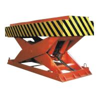 Wholesale 5000Kg Loading Hydraulic Cargo Lift Table With Gas Shield Welding 1.85m Lifting Height from china suppliers