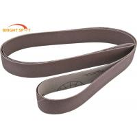 Wholesale Wood Stock Custom Sanding Belts60 Grit , 2 X 72 Ceramic Grinding Belts For Auto Bodywork from china suppliers