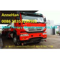 Wholesale SWZ  Water Tank Truck 16 - 25m3 /16000l - 25000l 371hp With Italy Pto Sinotruk  Q235 Material from china suppliers