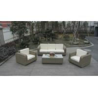 Wholesale Round wicker rattan garden outdoor sofa set high-end quality sofa set from china suppliers