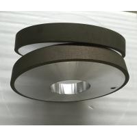 China Resin Bonded Metal Bond Diamond Wheel , Polishing Flat Diamond Grinding Wheels for sale