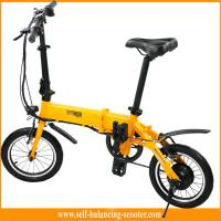 China Transporter Lightest Folding Bike 2 Wheel Electric Scooter With LED Light For Tourist on sale