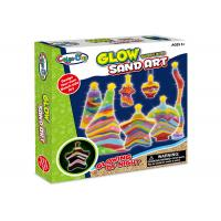 Wholesale Educational DIY Glow Sand Arts And Crafts Toys / Children Learning Kits W / Bottles from china suppliers
