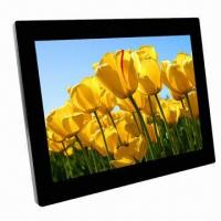 Wholesale High-resolution LCD Screen Digital Photo Frame with Built-in Loudspeaker and Optional Memory from china suppliers