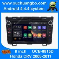 Wholesale Ouchuangbo android 4.4 Honda CRV 2008-2011 audio DVD gps radio stereo with 3G WIFI from china suppliers