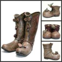 Wholesale Garden Pot /Flower Pot/Garden Decoration(Boot) from china suppliers