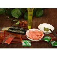Wholesale Japanese Pickled Ginger Takeaway Mini Sachet , Japanese Pickled Vegetables For Sushi from china suppliers