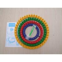 Wholesale 4 Size Round knitting Loom, Quality Plastic DIY Shawl Hat Yarn Knitter from china suppliers
