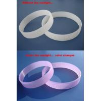Wholesale UV silicon bracelet from china suppliers