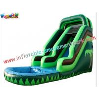 China Kids Play Toys Big Commercial Outdoor Inflatable Backyard Water Parks Slides for re-sale on sale