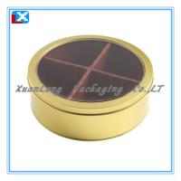 Quality Biscuit Round Tin Box for sale