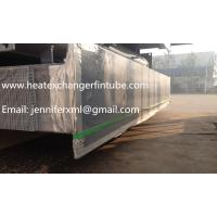 Buy cheap Carbon Steel Base Tube Material Single Row Flat Fin Tube Hot Dip Galvanized from wholesalers