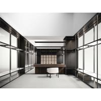 Wholesale Cloth designer work rooms by work station tables and display racks in Wardrobe closet used stainless steel factory work from china suppliers