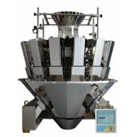 Wholesale CE 14 Head Weigher For Granule Products , Stepmotor Display Multi Head Machine from china suppliers