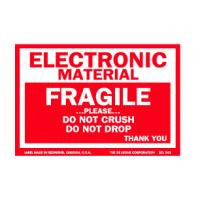 Wholesale OEM Coated Paper Electrical Warning Labels Anti Oil With Glossy Lamination from china suppliers