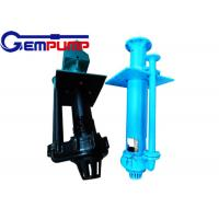 Buy cheap 100RV-SPGEM Vertical Sump Centrifugal Slurry Pump price For Conveying Abrasive from wholesalers