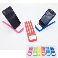 FDA SGS Fold Finger Shape Silicone Phone Holder Novelty Silicone Mobile phone Holder stand for sale
