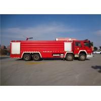 Wholesale Darley Pump Commercial Fire Trucks 11775×2500×3700mm Dimension Drive 8x4 from china suppliers