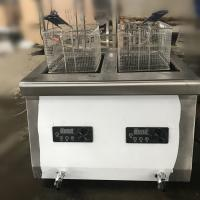 Wholesale Energy Efficient Automatic Fryer Machine / commercial Induction Fryer from china suppliers