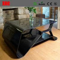 Wholesale Black Color Art Design Carbon Fiber Home Furniture Coffee Table Luxury Bestro Tea Table from china suppliers