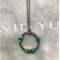 Buy cheap (N-99) Fashion Rhodium Plated Turquoise Charm Pendant Necklace for Women from wholesalers