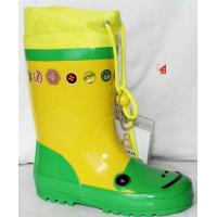 China green rubber  rain boots on sale