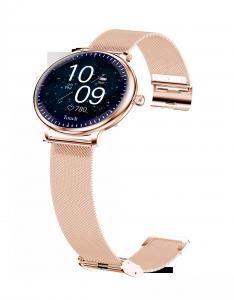 """Wholesale Ladies Round Screen 1.08"""" Blood Pressure Heart Rate Smart Watch from china suppliers"""