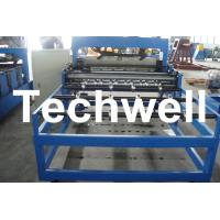 Wholesale Automatic Hydraulic Roof Bending Machine With 0 - 12m/min Speed For 0.3 - 0.8mm Roof Sheet from china suppliers