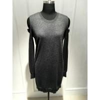 Wholesale Strapless Long Sleeve Ladies Pullover Sweaters With Wool Cashmere Material from china suppliers
