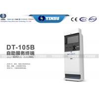 Wholesale High Efficiency Touch Screen Kiosk Hire / Payment Kiosk Machine For Bank from china suppliers